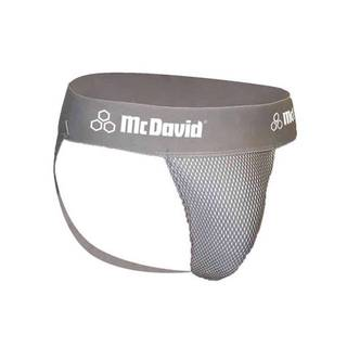 McDavid Classic Logo 3300 Athletic Supporter Mesh Gray