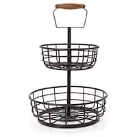 Gourmet Basic by Mikasa 2-tier Wire Basket