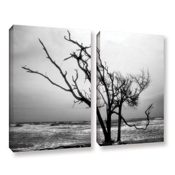 ArtWall Steve Ainsworth 'Hanging On' 2 Piece Gallery-wrapped Canvas Set - Multi thumbnail