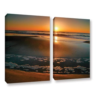 ArtWall Steve Ainsworth 'Morning Has Broken' 2 Piece Gallery-wrapped Canvas Set