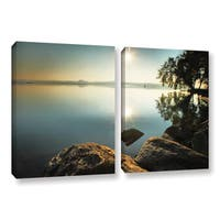 ArtWall Steve Ainsworth 'Starting Over' 2 Piece Gallery-wrapped Canvas Set - Multi