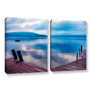 ArtWall Steve Ainsworth 'Interlude Filtered' 2 Piece Gallery-wrapped Canvas Set