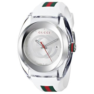 Link to Gucci Men's YA137102 'SYNC XXL' White Stainless Steel Watch Similar Items in Men's Watches