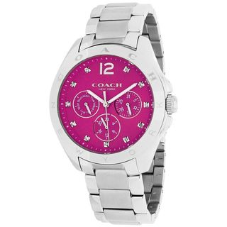 Coach Women's 14502071 'Tristen' Chronograph Crystal Stainless Steel Watch