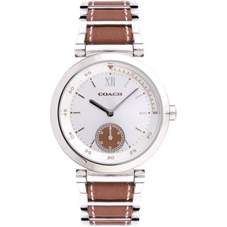 Coach Women's 14502032 'Classic' Two-Tone Leather Watch