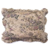 Fluer Toile Cotton Pillow Sham