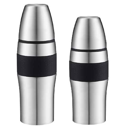 Ovente TSA26S 26-ounce and TSA36S 34-ounce Insulated Flask Set