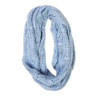 Lucia Cornflower Crochet Infinity Scarf