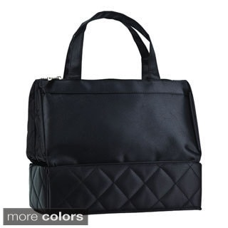 Goodhope Lady Qulited Cosmetic Toiletry Case