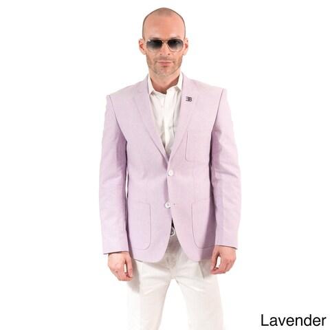 Elie Balleh Milano Italy Men's Cotton Slim Fit Jacket