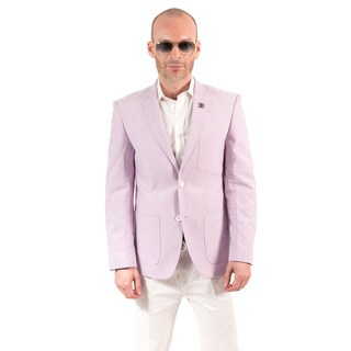 Elie Balleh Milano Italy Men's Cotton Slim Fit Jacket