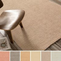 Hand-Woven Suffolk Reversible Jute Area Rug