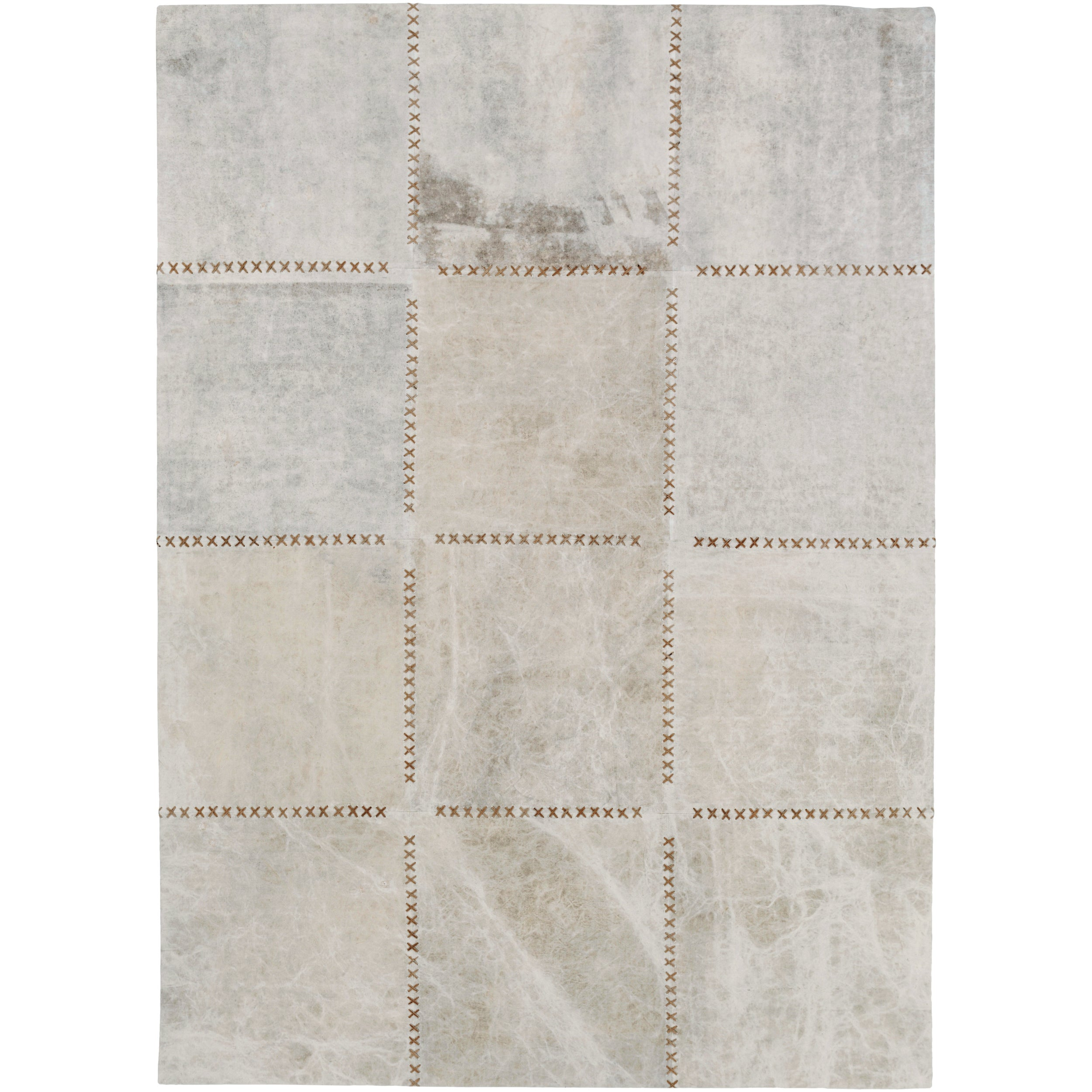 SURYA Hand-Crafted Thirsk Crosshatched Indoor Cotton Rug ...