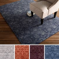 Hand-Tufted Horsham Damask Viscose Area Rug - 8' x 10'