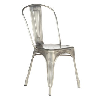 Industrial Metal Cafe Dining Chair