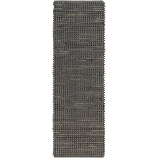 Hand-Woven Wragby Solid Outdoor Rug (2'6 x 8')