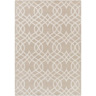 Hand-Tufted Sandown Geometric Indoor Area Rug - 8' x 10'
