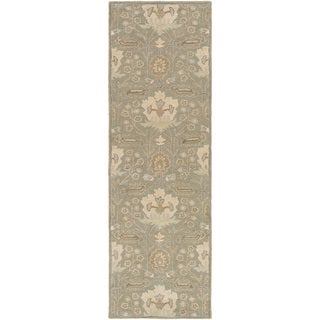 Copper Grove Kavir Hand-Tufted Floral Wool Area Rug - 3' x 12'