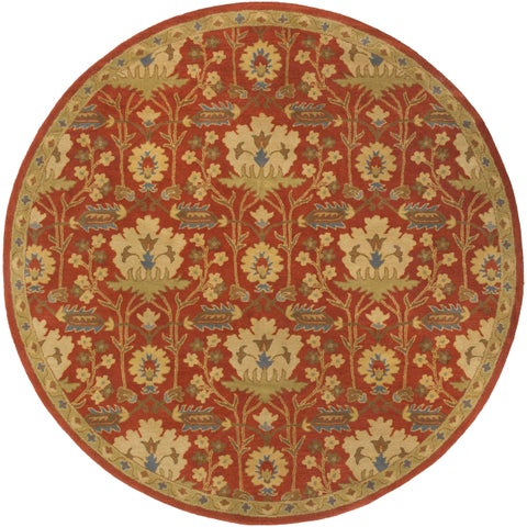 Copper Grove Mangamma Hand-Tufted Floral Wool Area Rug