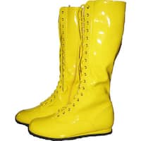 Adult Yellow Boots