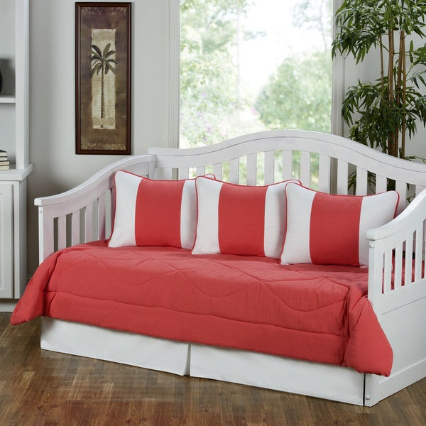 Cabana Coral 5-piece Daybed Set