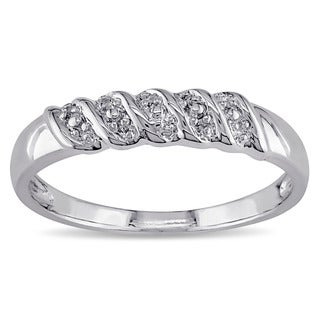 Miadora Sterling Silver Mens Ring