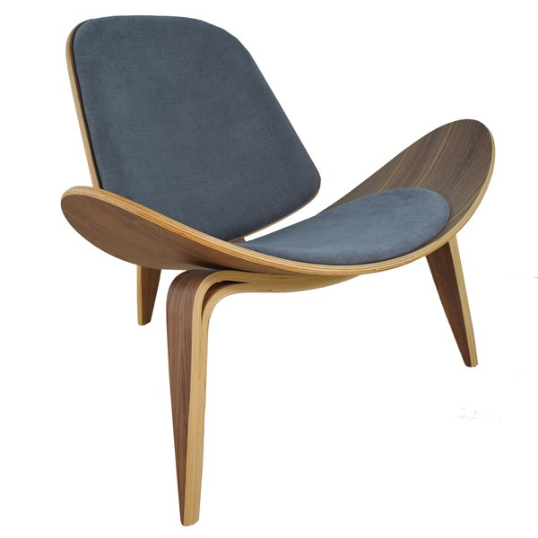 Modern Bent Plywood Lounge Chair  sc 1 st  Overstock.com & Shop Modern Bent Plywood Lounge Chair - Free Shipping Today ...