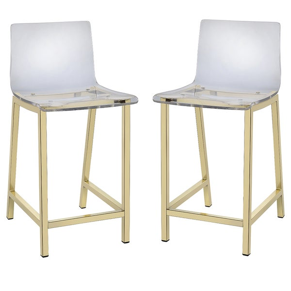 Pure Decor Clear Acrylic Counter Stool Set of 2 Free  : Pure Decor Clear Acrylic Counter Stool Set of 2 c8a67e2a 03c0 4cdf ba58 724357012b99600 from www.overstock.com size 600 x 600 jpeg 24kB