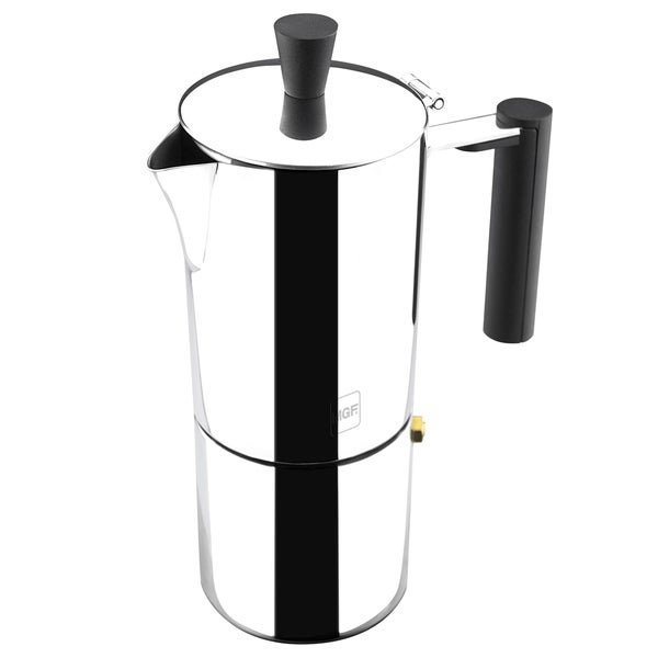 Shop Magefesa Capri Stainless Steel Coffee Maker Free Shipping