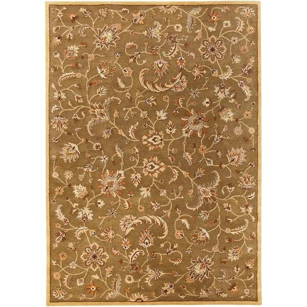 Hand-Tufted Roland Transitional Wool Area Rug - 9' x 12'