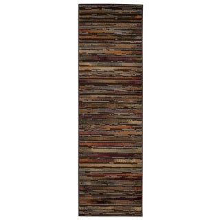 Rug Squared Mariposa Multicolor Runner Rug (2'2 x 7'3)