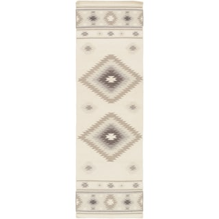 Hand-Woven Juliet Southwestern Style Wool Rug (2'6 x 8')