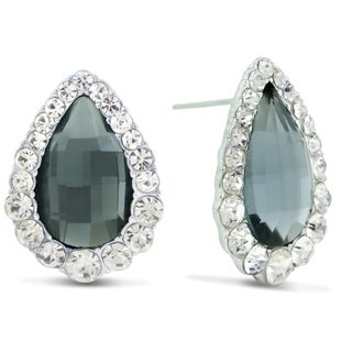 Pear Shape Stud Earrings, Pushbacks