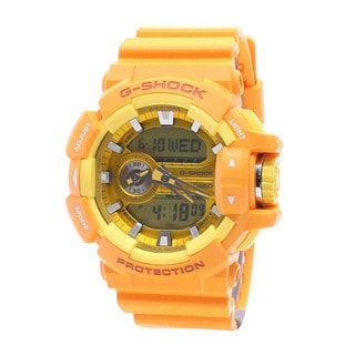 Casio Men's GA400A-9A G-Shock Yellow Watch