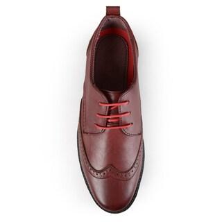 Boston Traveler Men's Lace-up Oxford Shoes