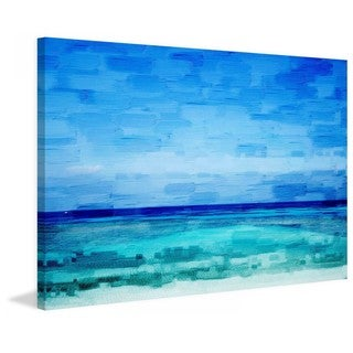 "Parvez Taj - ""Cromer"" Print on Canvas"