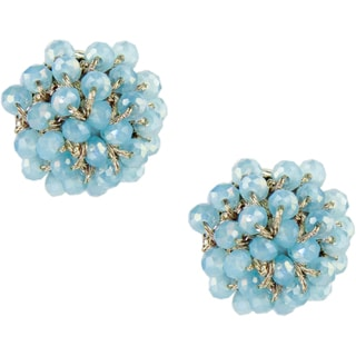 Saachi Beaded Stud Earrings (China)