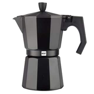Magefesa Kenia Aluminum Black Espresso Maker (3 sizes available)|https://ak1.ostkcdn.com/images/products/10454905/P17547371.jpg?impolicy=medium