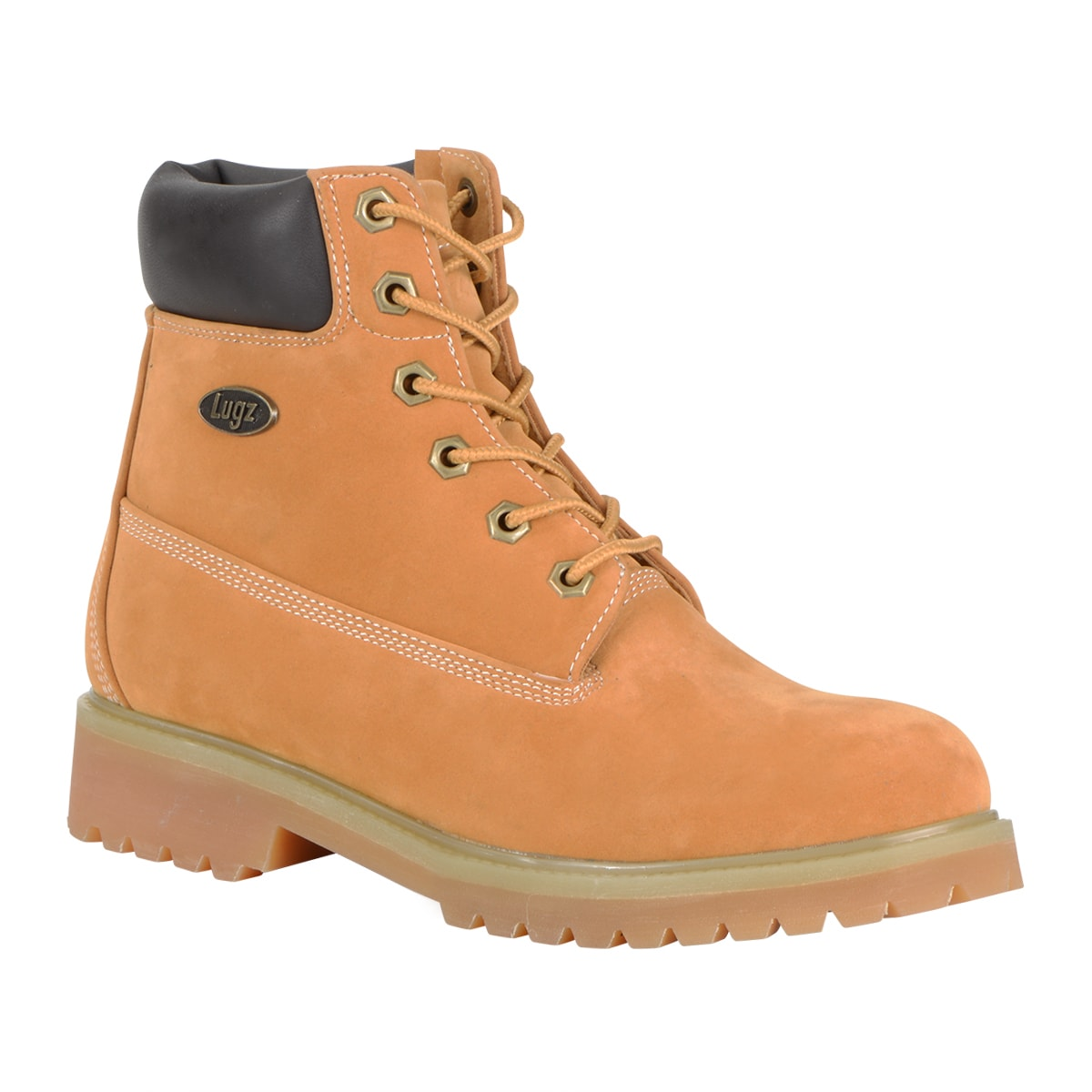 Lugz Women 'Convoy' Lace-up Boot (Rust - 8.5), Brown (lea...