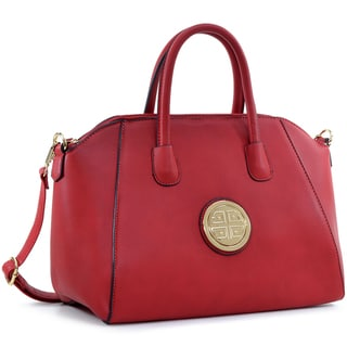 Link to Dasein Faux Leather Weekender Satchel with Removable Strap Similar Items in Shop By Style