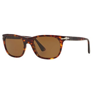 Persol Men's PO3102S Plastic Square Polarized Sunglasses