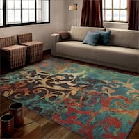 Havenside Home Lindhurst  Rainbow Multi Area Rug (5'3 x 7'6)