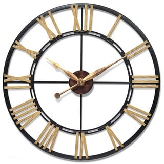 Infinity Instruments Cologne 45-inch Oversized Large Wall Clock