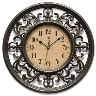 Link to Copper Grove Kaffir 12-inch Round Clock Similar Items in Decorative Accessories