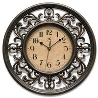 Laurel Creek Kenton 12-inch Round Clock