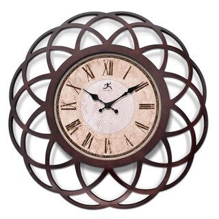 Infinity Instruments Seville 18-inch Round Clock