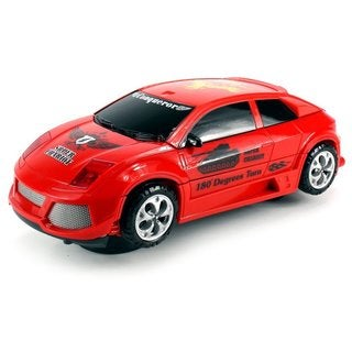 Velocity Toys Transforming Tank Battery Operated Bump and Go Toy Car