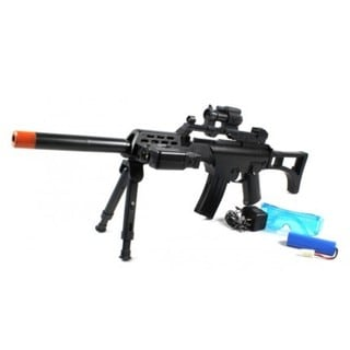 Pro Sport R36c Electric Airsoft Gun Full Auto Bipod Fps-230