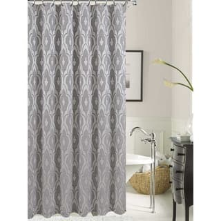 buy off white shower curtains online at our best shower accessories deals. Black Bedroom Furniture Sets. Home Design Ideas
