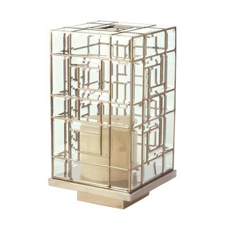 Dimond Home Large Glass Hurricane Candle Holder